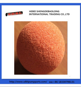 China Manufacture Concrete Pump Parts Cleaning Balls
