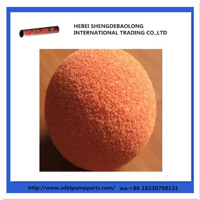 China Manufacture Concrete Pump Parts Cleaning Balls