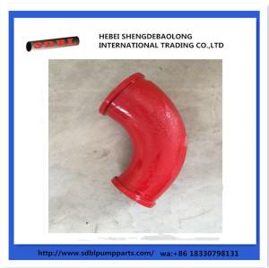 Concrete Pump Parts Cast Elbow Bend Pipe