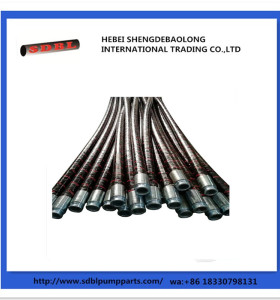 Concrete Pump Steel Wire Rubber Flexible Pipe