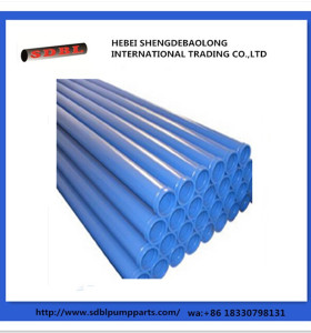 Concrete Pump Parts Hardened Pipeline