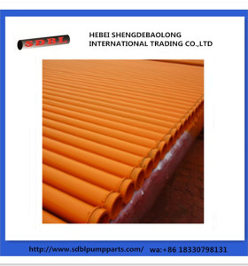 Concrete Pump Spare Parts Welded Pipe
