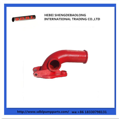 Putzmeister Concrete Pump Parts Flap Elbow
