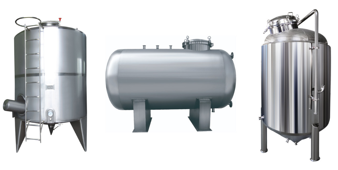 Tanks collection removable tanks sanitary tanks China manufacture Amtech tank