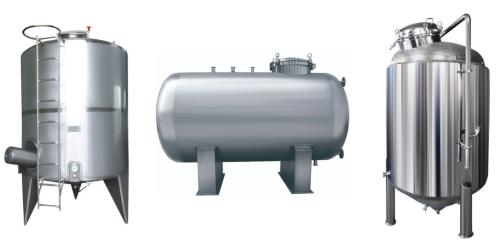 Multifunctional Stainless Steel tanks collection tanks sanitary tanks China manufacture Amtech tank