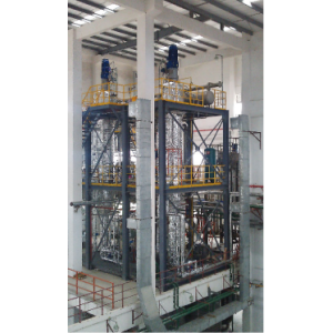 Evaporator thin film vertical for pharmaceutical chemical use China manufacture Amtech evaporator