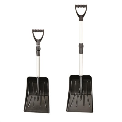 Remagy Is-001  Plastic Stretch Aluminum Snow Shovel Facorty used For Camping Outdoor Snow Auto