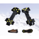 Remagy Sg-0117 10 Spikes Rubber Ice Crampons For Hiking Boots Whosale