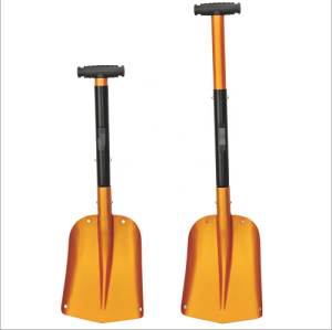 Portable straight handle Snow Shovel