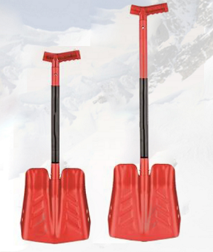 Remagy Is-005 Aluninum Multifunction Snow Shovel Blade  With 35cm Big Tooth Ice Saw shosale