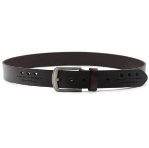 HANJUN Men's Leather Belt black 3.8*110 or customized Cow Hide