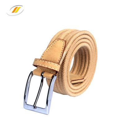 Wax Rope Elastic Braided Belt For Men Women