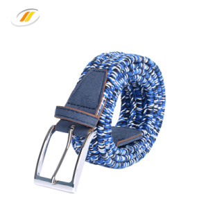 Wax Rope Elastic Braided Belt For Men Women
