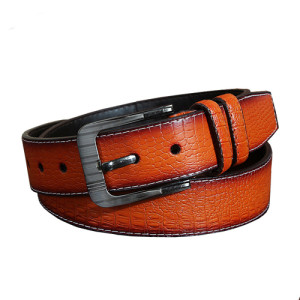 Men 100% Pure Genuine Leather Belt