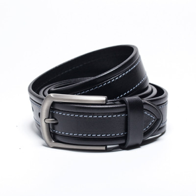 Simple Genuine Leather Belt Pure Leather With Cow Leather Belt