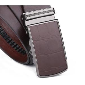 Luxury Automatic Buckle Man Genuine Leather Belt