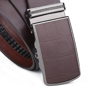 Luxury Automatic Buckle Man Genuine Leather Belt