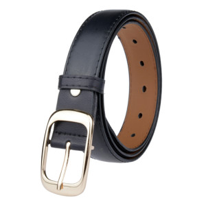 Wholesale Network Hot Fashion Casual Women Alloy Buckle Thin Belt