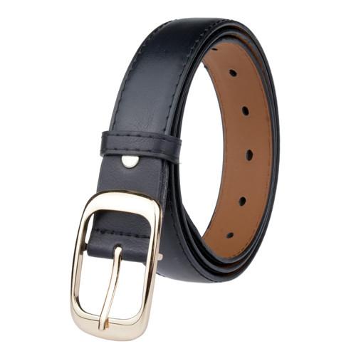 Wholesale Network Hot Fashion Casual Women Alloy Buckle Thin Belt