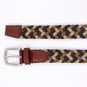 New Design Personalized Braided Rope Woven Web Belt