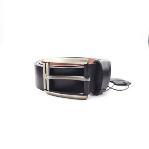 Vintage Style Cowhide Full Grain Tan Leather Belt Unisex