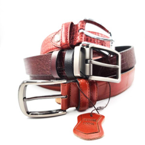 Custom Logo Top Quality Alloy Buckle Alligator Crocodile Genuine Leather Belt Cowhide for Men