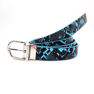 Wholesale Manufactory Fashion Leopard Print PU Leather Belt For Woman