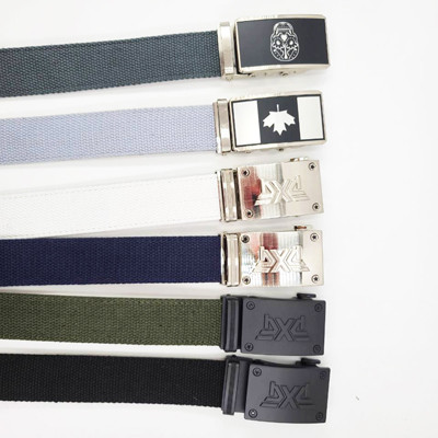 Men's Cow Leather belt with Automatic Buckle