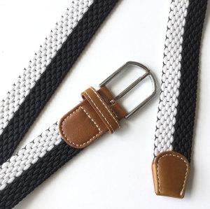 Factory Hot Sale Custom Leisure Woven Man Women Elastic Adjustable Strentch Fabric Belts
