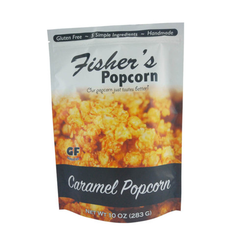 Reusable Ziplock Bag for Popcorn Packaging