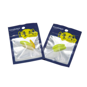 Wholesale Custom Printing Zipper Top Fish Bait Packaging Bag