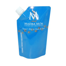 Laminated Material Laundry Detergent Liquid Soap Packaging Bag with Spout
