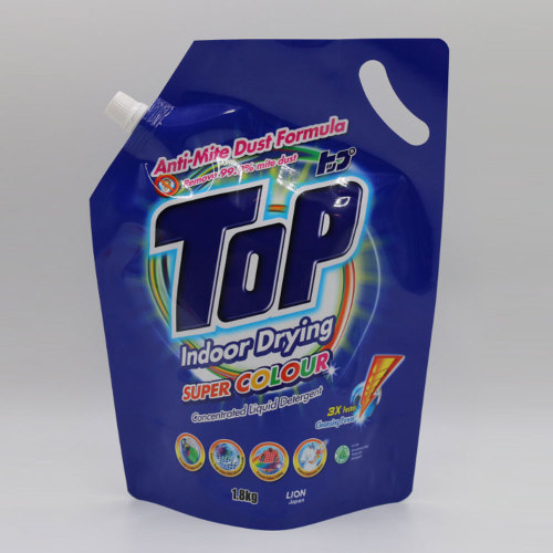 Spout Pouch for Packing Detergent