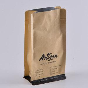 Whole Coffee Bean Kraft Paper Packaging Bag