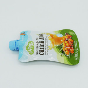 Spouted Pouch for Packaging Fruit Juice