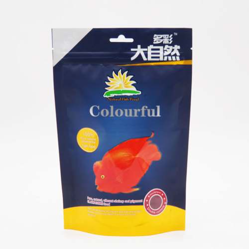 Factory Direct Supplier Stand up Fish Food Packaging Bag