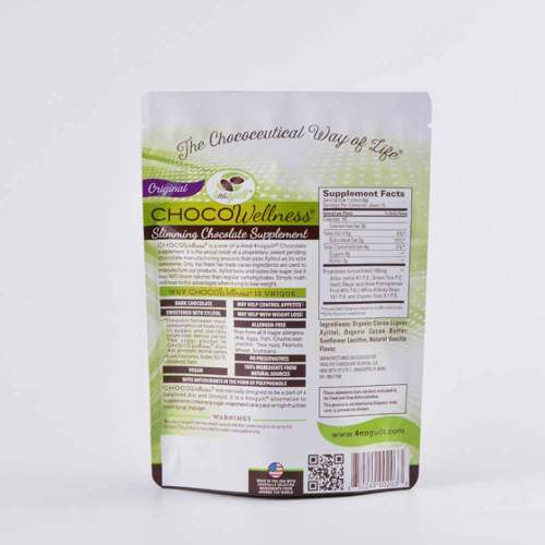 Custom Printed Foil Stand up Pouch with Zipper for Food