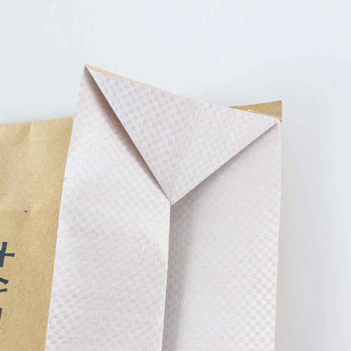Laminated Kraft Paper PP Woven Bag for Cement Packaging with Valve