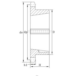 European Standard Taper bore sprocket 12 chain sprocket