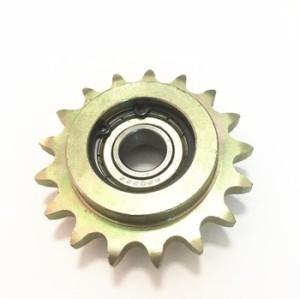 European Standard 3/8 ×7/32''  Ball bearing idler sprocket