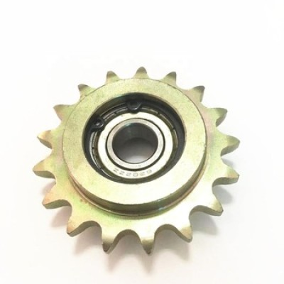 European Standard sprocket 1/2 ×5/16''  Ball bearing idler double teeth excavator sprocket specification chain sprocket
