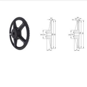 European Standard pilot bore chain wheel Cast iron sprocket 16 chain sprocket
