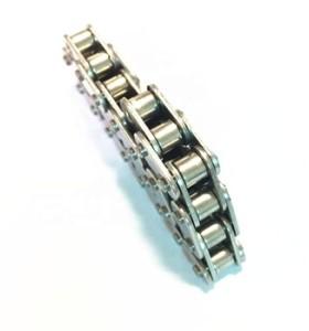 Cadena de rodillos Proveedor de China de alta calidad Paso 12,7 mm 08A-1 / 40-1 Cadenas niqueladas Cadenas de rodillos industriales (serie A)