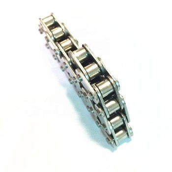Roller Chain High Quality China Supplier Pitch 12.7mm 08A-1/40-1  Nickel-plated chains industrial roller chains(A series)