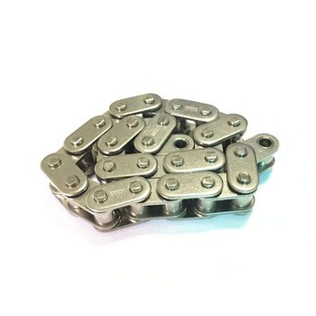24A-1/120-1 Anti-rust Nickel-plated precision simplex Roller Chain High Quality China Supplier