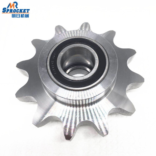 "European Standard 1""×17.02  Ball bearing idler sprocket"