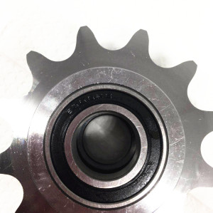 European Standard 1/2 ×3/16''  Ball bearing idler sprocket
