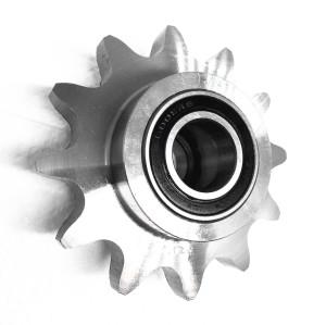 European Standard 5/8 ×3/8''  Ball bearing idler sprocket
