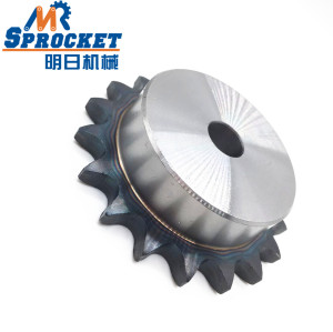 high precision Chinese Manufactured transmission Stock Bore Sprocket 100 chain sprocket