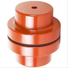 Acoplamiento de mordaza de caucho NM / Acoplamiento de hierro fundido NM112 NM128 Transmisión de fabricación china de alta precisión